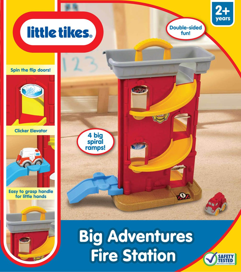 Little tikes cash register - Amazon Com Little Tikes Little Tikes Big Adventures Fire Station Toys Games