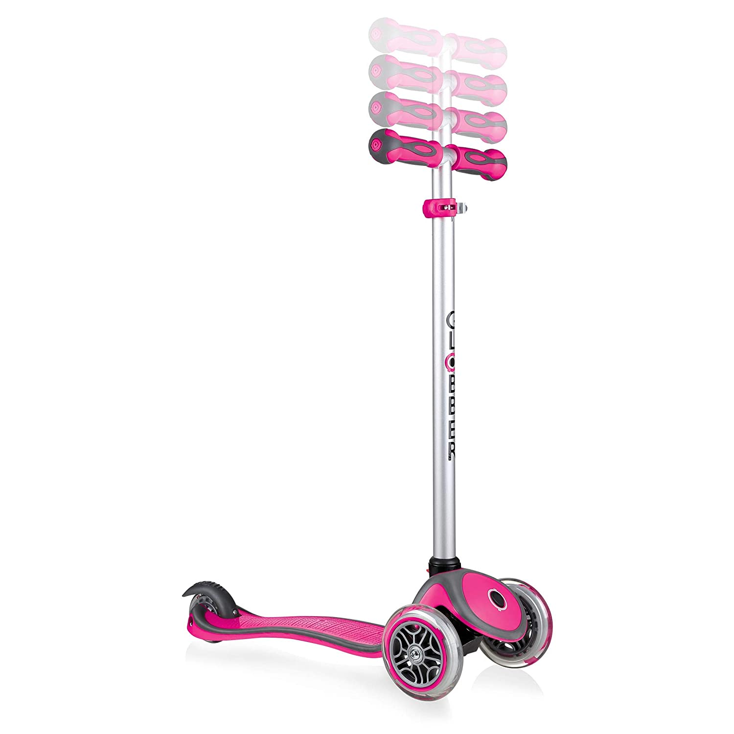 Globber Comfort Play Rosa Scuro