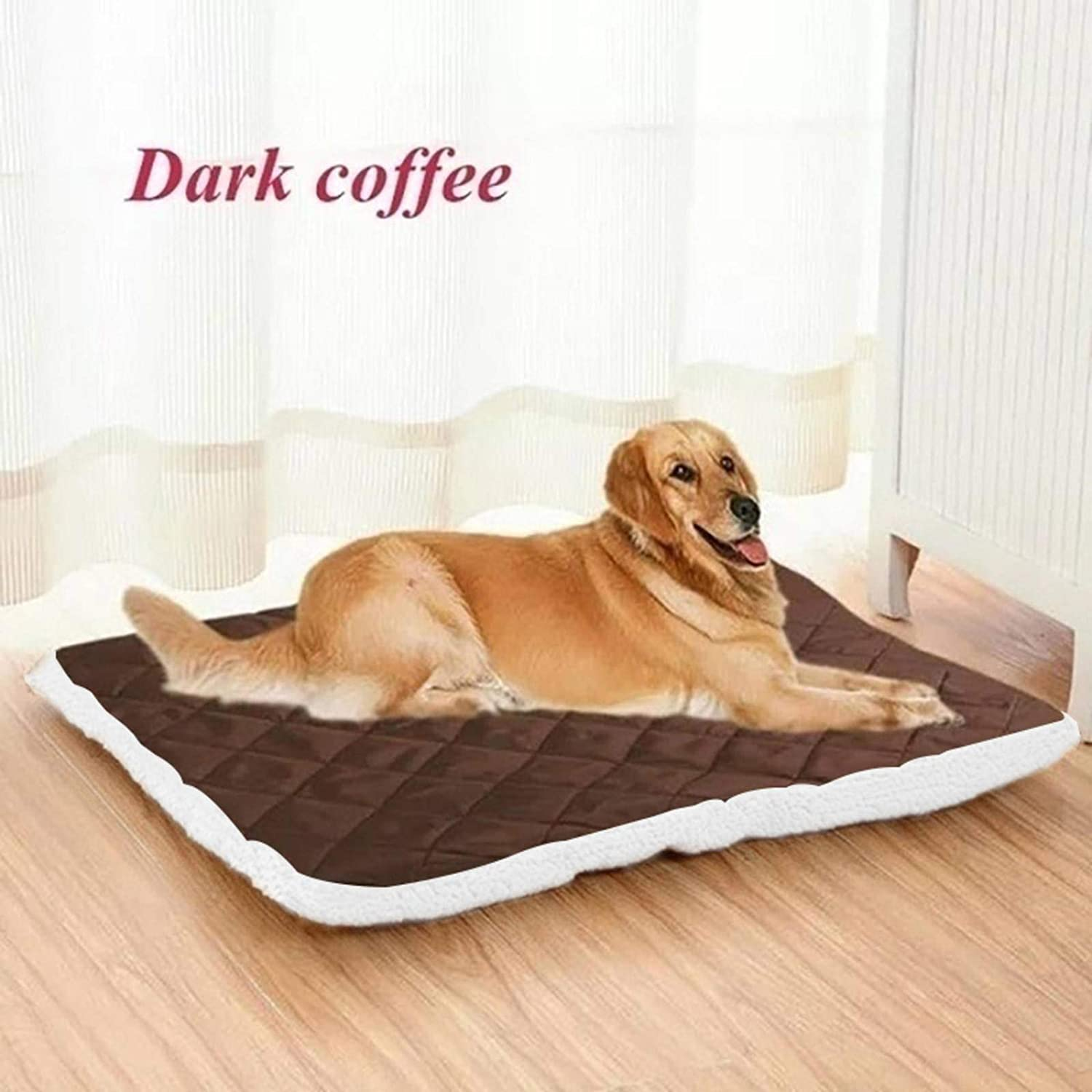 N-B Pet Litter Plush Pet Mat Soft and Warm Dog Cat Bed Kennel Puppy Sleeping Bed Small and Medium-Sized Large Dog Pet Blanket