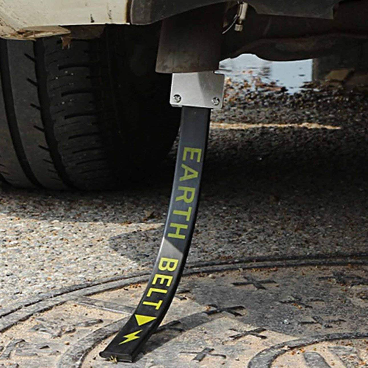 Black/&Car Version Car Anti Static Strap Electrostatic Earth Belt Canceller Reflective Avoid Antistatic Ground Wire Strap for Cars Trucks