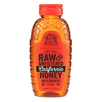Nature Nate's 100% Pure Raw & Unfiltered California Honey; 16-oz. Squeeze Bottle...