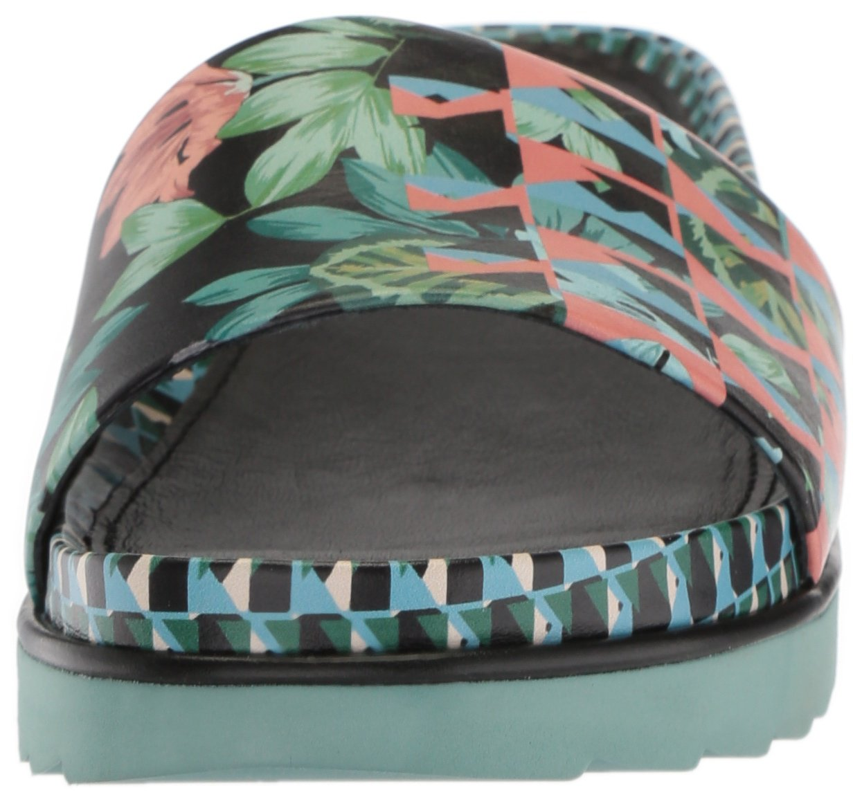 Donald J Pliner Women's Cava Slide US|Black Sandal B0755BD1VH 5.5 B(M) US|Black Slide Geo Jungle 8fc9c6