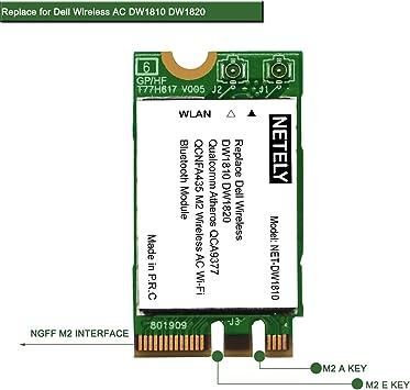 Amazon.com: DW1810 QCNFA435 802.11AC 2.4 GHz 150 Mbps y 5 ...