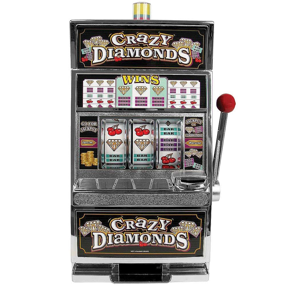 RecZone Crazy Diamonds Slot Machine Bank - Authentic Replication by RecZone (Image #1)