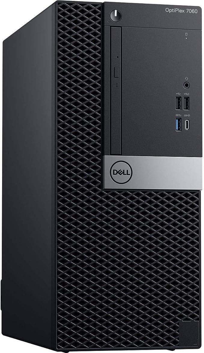 Dell Optiplex 7060 Mini Tower | Intel Quad Core i3-8300 3.7GHz | 24GB DDR4 + 16GB Optane Memory | 512GB SSD + 500GB HDD| DVD | Windows 10 Pro (Renewed) | Amazon