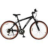 GRAPHIS(グラフィス) GR-007 マウンテンバイク 26インチ シマノ18段変速