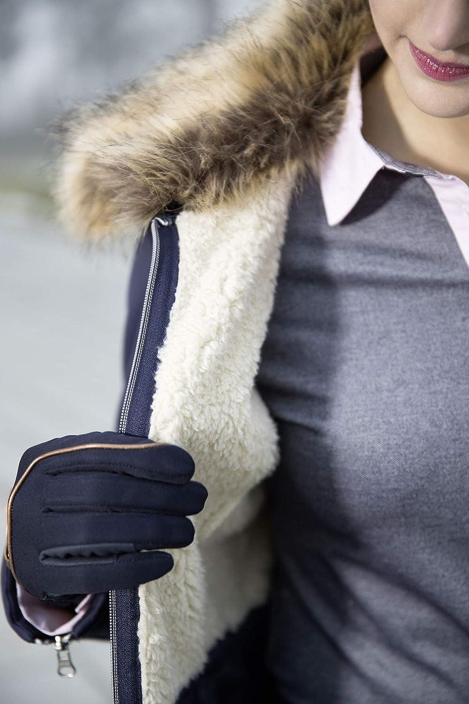 Lauria Garelli Moena Ladies Horse Riding Fur Trim Country Walking Winter Jacket