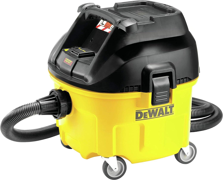 Dewalt DWV901L-QS Aspirador 30 litros Clase L 1.400W y filtro ...