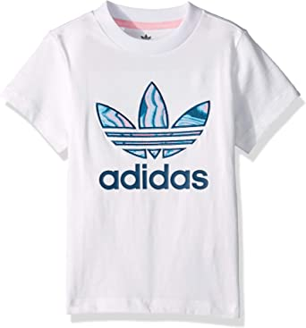 Impulso levantar Camino  Amazon.com: adidas Originals - Camiseta de mármol para niña: Clothing