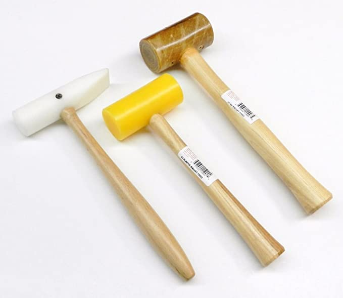 37-100 Rawhide Mallet Natural 1.00\u201d for Jewelry Making