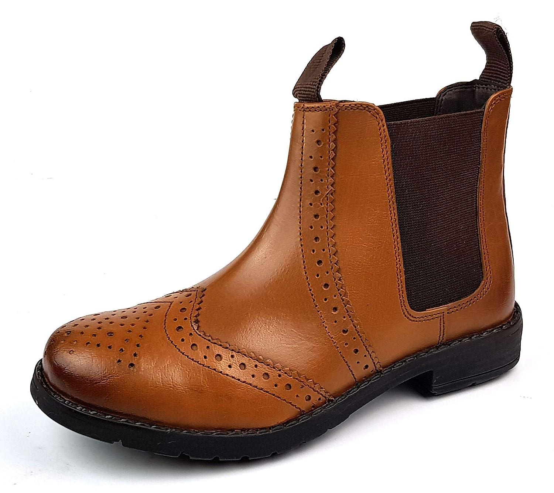New Earth , Chaussures d'équitation pour garçon Marron Marron