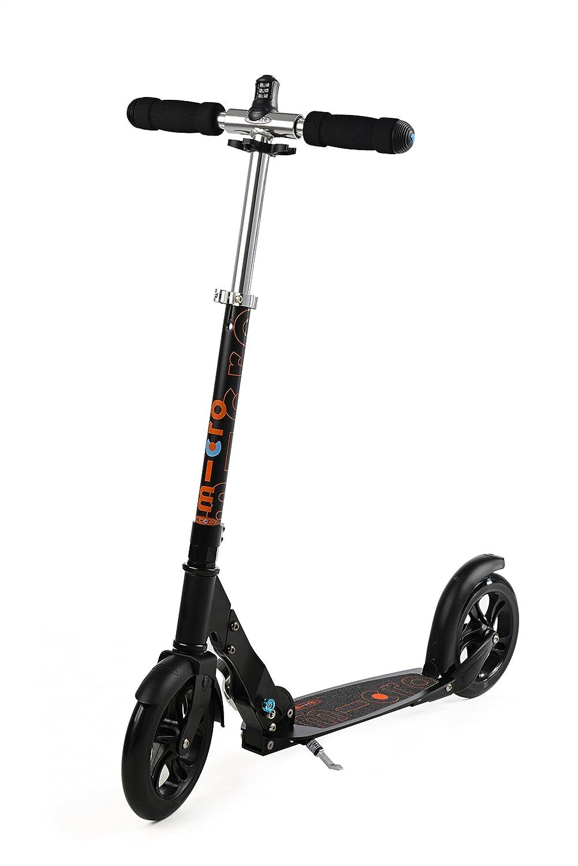 Micro Scooter Black Patinete con candado Integrado: Amazon ...