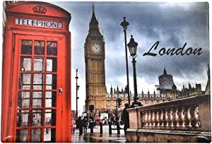 Towashine London Photo Fridge Magnets England UK Travel Souvenir Gifts for Home Decoration
