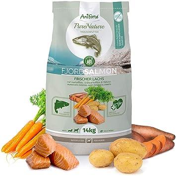NUEVO aniforte 100% Natural trockenfutter Natural Forro de perros de cereales libre Fjord de Salmon