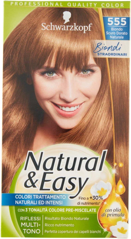 TESTANERA Natural & Easy 555 de oro rubio oscuro - tintes ...