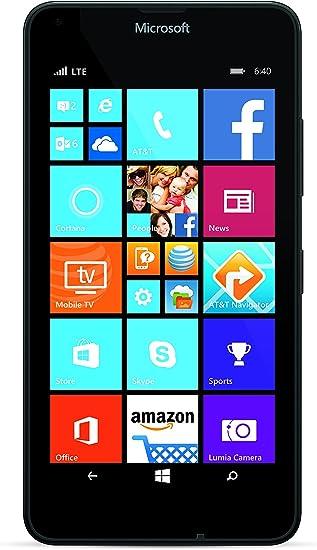 Microsoft Lumia 640-4G Smartphone AT&T Libre Windows Phone ...