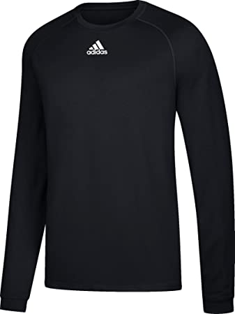 f8d7ec619de0 adidas Climalite Relaxed Fit Long Sleeve T-Shirt (2946) 4XL Black
