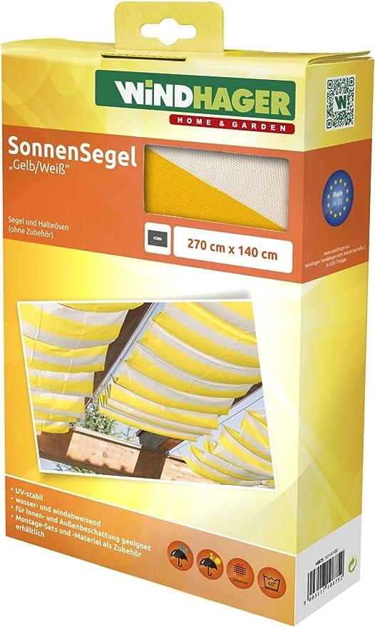 Windhager Toldo Vela de protección Solar tecnología de tensado de ...