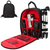 Camera Backpack Camera Bag Waterproof Lightweight Bag for DSLR SLR Cameras Laptops Tripods Flashes Lenses