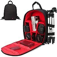 Camera Backpack Camera Bag Waterproof Lightweight Bag for DSLR SLR Cameras Laptops Tripods Flashes Lenses