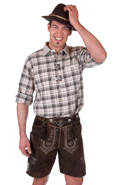 Orbis Textil H049 - Trachten Hemd mit Krempelarm