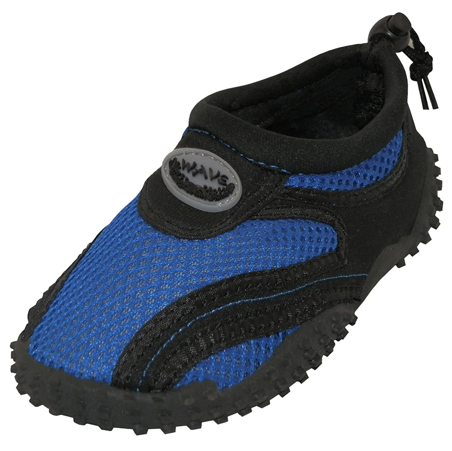 Cambridge Select Toddlers Quick Dry Slip-On Mesh Drawstring Non-Slip Water Shoe Toddler