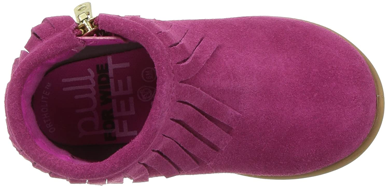 Step /& Stride Kids Infant Girls Kaylee Suede Bootie Fashion Boot
