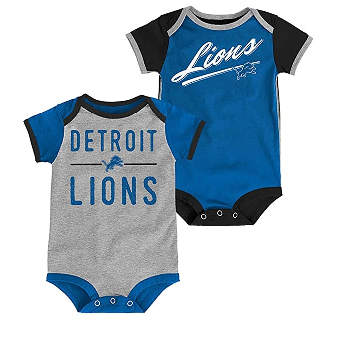 9b6f5ba5 Amazon.com : Outerstuff Detroit Lions Baby/Infant Descendant 2 Piece ...