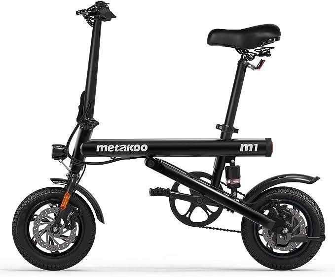 """METAKOO Folding Electric Bike M1, 12"""""""