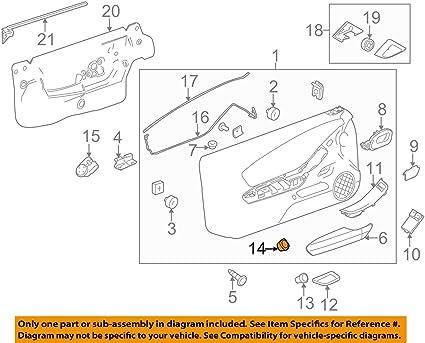 CAMARO MALIBU G6  Door-Trunk Lid Switch Bezel NEW GM #  15853222