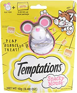 Temptations Snacky Mouse Cat Toy For Cat Treats (Limited Edition)