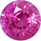 1.06 Carat Untreated Loose Pink Sapphire Round Cut