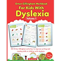 Orton Gillingham Workbook For Kids With Dyslexia. 100 Orton Gillingham activities to improve writing and reading skills…