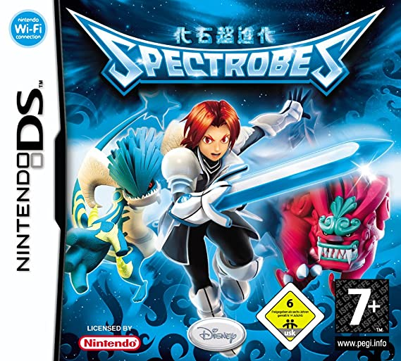Disney Spectrobes Nds Nintendo Ds Video Juego Nds Nintendo Ds