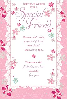 Friend Birthday Card ~ To A Very Special Friend On Your Birthday