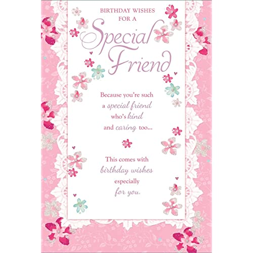 Special Birthday Cards For Friend Amazon