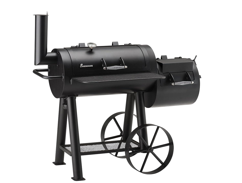 Tepro Grill Smoker Holzkohlegrill Milwaukee : Landmann 11404 smoker grill profi tennessee 400: amazon.de: garten