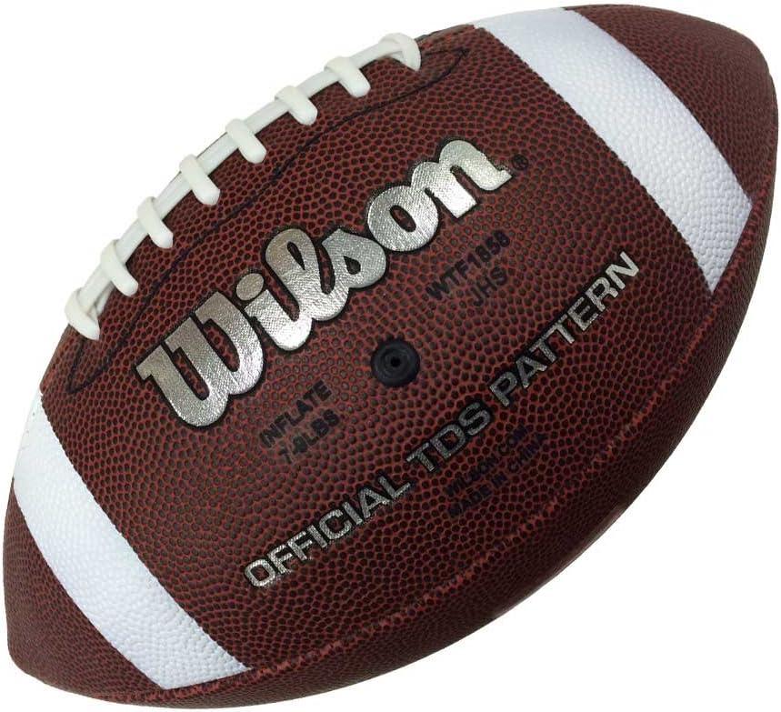 Wilson WTF1858XB Pelota de fútbol Americano NFL Bulk Cuero ...