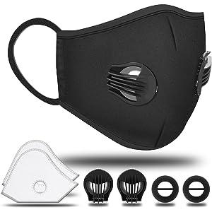 4 Haishell Respirator Anti Pollution Mask N95 Pack Anti-fog
