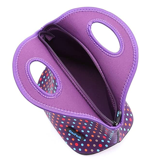 Amazon.com: Luncheras reutilizables aislantes de neoprene ...