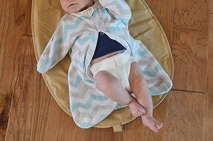 Amazon.com  Cozy Baby Sleeper Swaddle Wearable Blanket by Revelae - Rosie  -3-6 Month  Baby 7cf651e8e