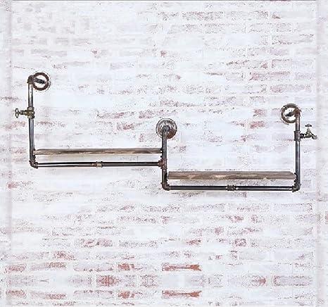 YMJ Perchero Vintage Loft Iron Hose Coat Rack, Sala de Estar ...