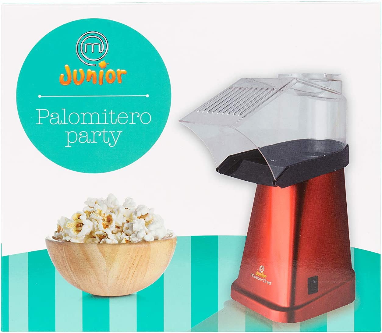 Masterchef Junior Palomitero Easy Party- Potencia De 1200W ...