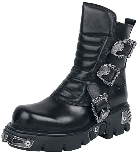 Gothicana by EMP New Rock Osiris Boots schwarz EU37: Amazon