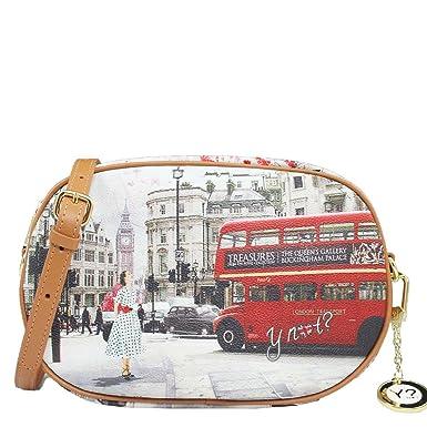 50370642c5 Borsa Y Not tracollina London BUS j 378: Amazon.it: Abbigliamento