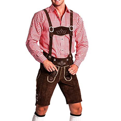 Tradicional pantalón bávaro para el Oktoberfest para hombres ...