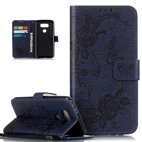 Carcasa LG G5, funda LG G5, ikasus® Carcasa piel LG G5 ...