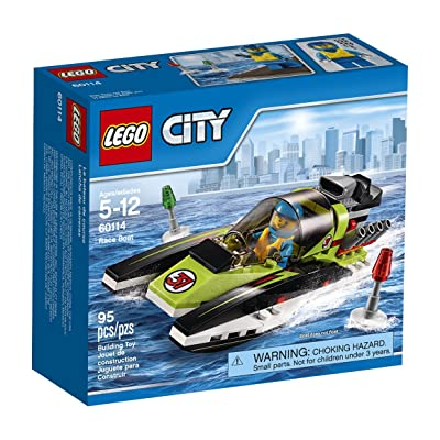 LEGO CITY Race Boat 60114: Toys & Games