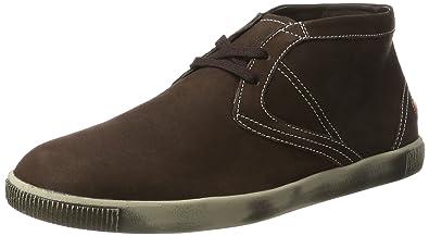 Softinos Herren Tim Smooth Hohe Sneaker