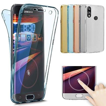SainCat Funda Huawei P20 Lite, Anti-Golpes 360 Grados Todo Incluido Cover 360 Grados